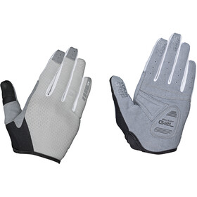 GripGrab Shark Padded Full Finger Gloves Women grey